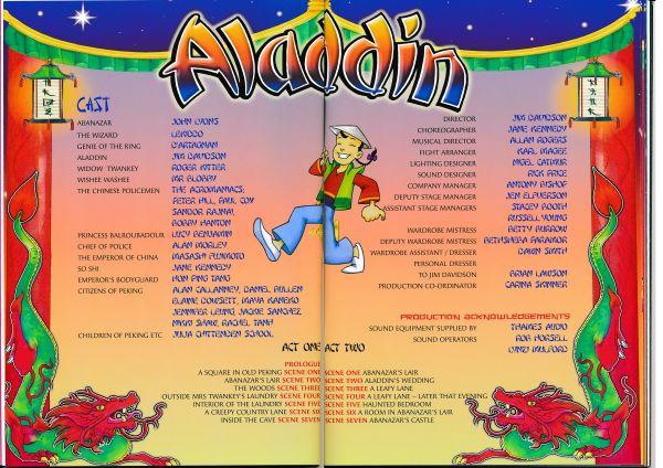 image MTA25144 - Jim Davidson Aladdin Programme 3 of 4