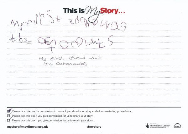 image My Story Card - MTA51135