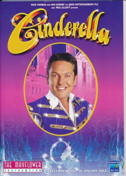 image MTA25143 - Cinderella Programme Brian Conley 1 of 4