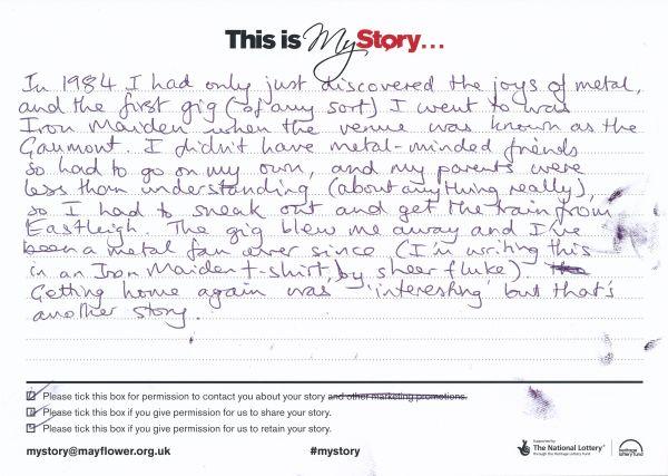 image My Story Card - MTA51147