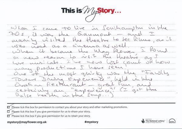 image My Story Card - MTA51156