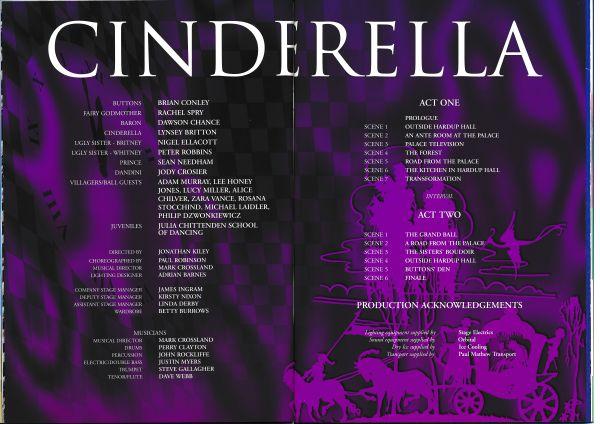 image MTA25143 - Cinderella Programme Brian Conley 3 of 4