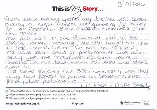 image My Story Card - MTA51180