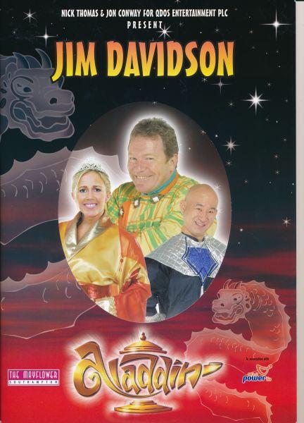 image MTA25144 - Jim Davidson Aladdin Programme 1 of 4