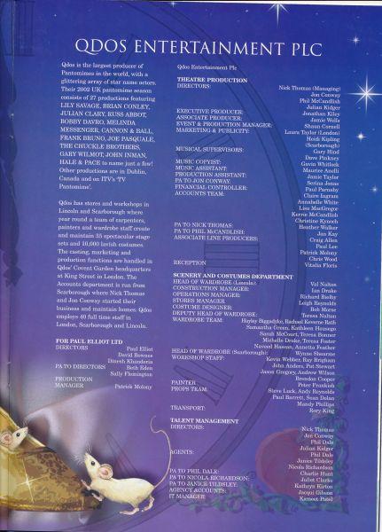 image MTA25143 - Cinderella Programme Brian Conley 4 of 4