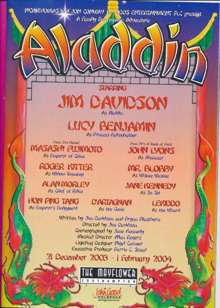 image MTA25144 - Jim Davidson Aladdin Programme 2 of 4