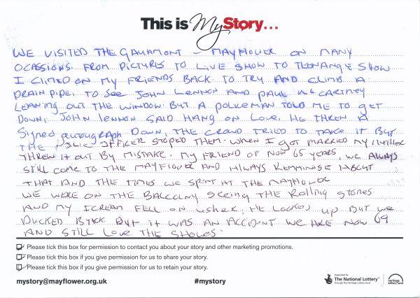image My Story Card - MTA51170