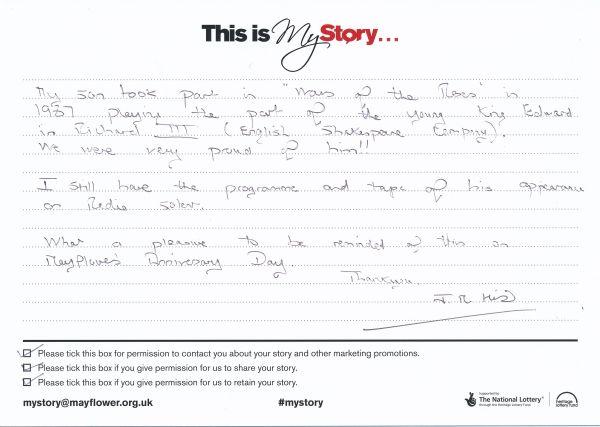 image My Story Card - MTA51143